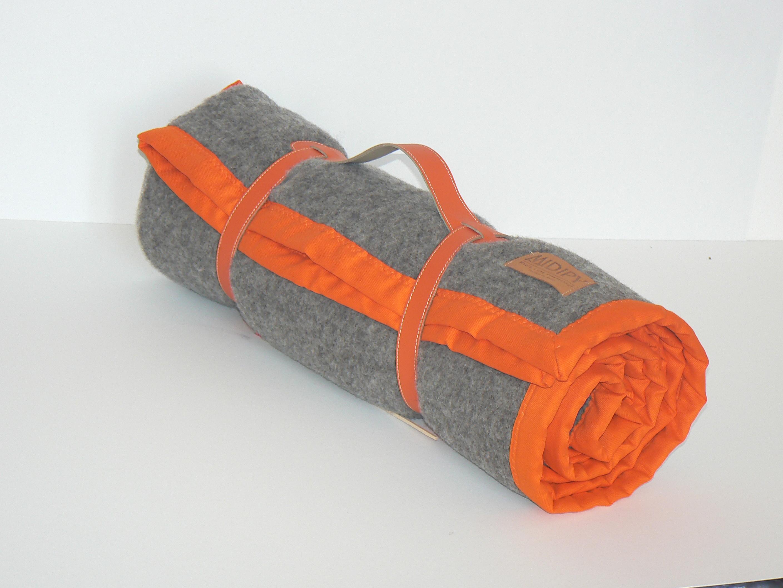 b7a035eb0b1a Plaid Haute Laine Naturelle Grey wool - MIDIPY
